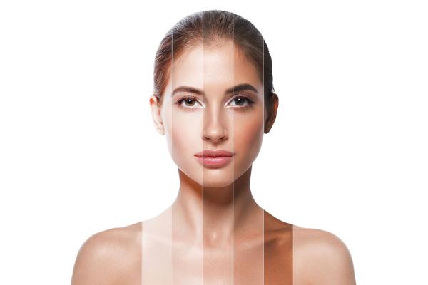 A cor da pele é determinada por uma série de genes.