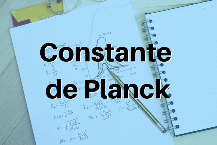 A constante de Planck é uma das constantes mais importantes da Física.