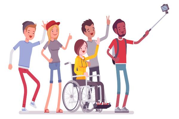A inclusão social é uma medida de controle social que visa à integração de pessoas excluídas e marginalizada na sociedade.