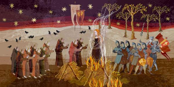 A Inquisição foi um dos eventos mais importantes da Idade Média. Nela, todos aqueles que não seguiam a doutrina da Igreja eram perseguidos e mortos.