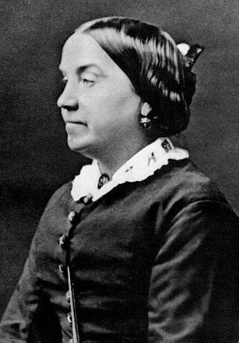 """Lydia """"Lizzie"""" Burns, a segunda companheira de Engels."""