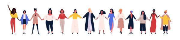 Entre outras ações, a mobilização feminina foi e ainda é muito importante para o combate das desigualdades de gênero.