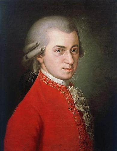 Mozart é um exemplo de cultura erudita no ramo da música.
