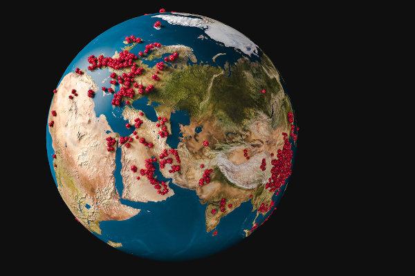 Trata-se de uma pandemia quando uma doença ocorre simultaneamente em vários países.