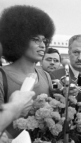 Angela Davis em Moscou, em 1978. [2]