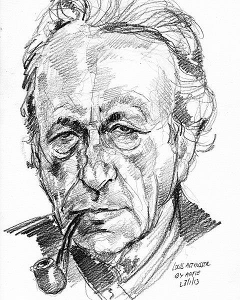 Louis Althusser, o filósofo que atribuiu à ideologia o título de discurso lacunar.