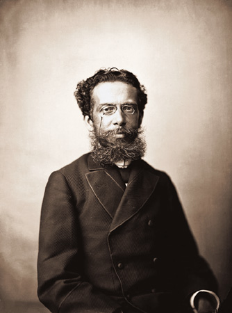 Machado de Assis é um expoente da literatura brasileira.[2]
