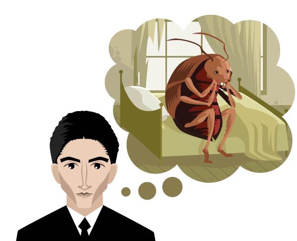 """""""A metamorfose"""", de Franz Kafka, é um clássico da literatura fantástica."""