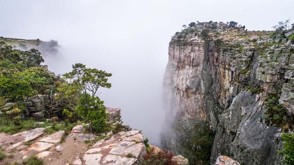 Angola é um país onde há belas paisagens.