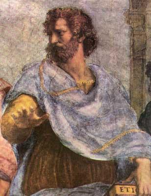 Aristóteles foi um dos primeiros filósofos políticos da história da filosofia.