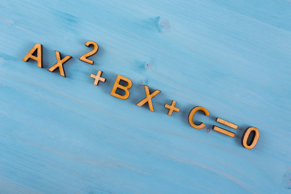 A equação do segundo grau é um exemplo de equação polinomial.