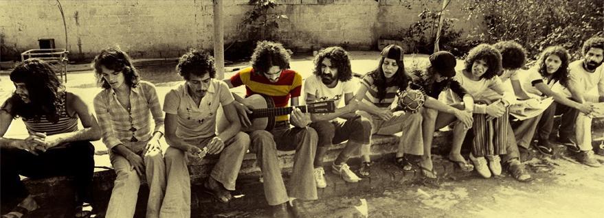 Banda Novos Baianos, representante do movimento contracultural brasileiro da década de 70. [2]