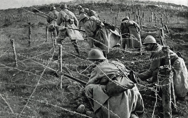 A Primeira Guerra Mundial incorporou as ideias de guerra de Clausewitz, sendo um conflito no qual não havia misericórdia com o adversário.[1]
