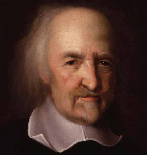 Hobbes também considerou o estado da natureza e o contrato social em sua filosofia, porém com viés diferente do que foi defendido por Locke.