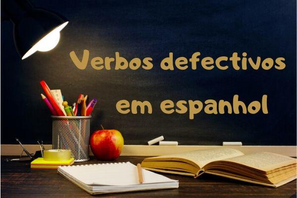 Os verbos defectivos têm um defeito: não são conjugados em todas as pessoas.