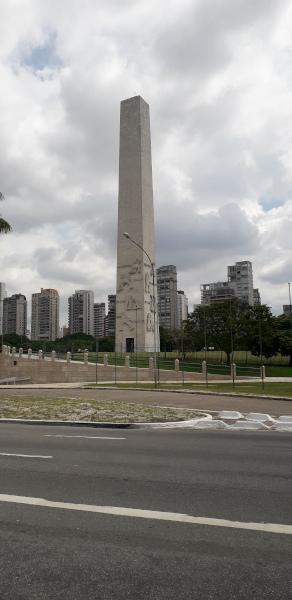Obelisco, monumento que recorda a Revolução Constitucionalista de 1932.