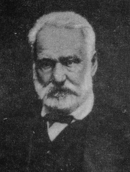 Retrato de Victor Hugo sem data, retirado do livro História moderna, publicação russa de 2008.[2]