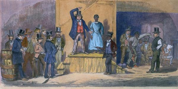 Em 1869, foi aprovada uma lei que proibia a realização de leilões de escravos no Brasil.