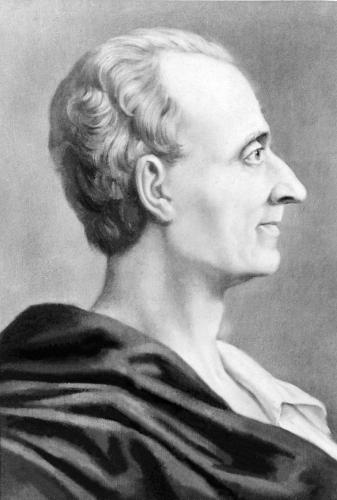 Charles de Montesquieu — filósofo, escritor e teórico político francês iluminista.