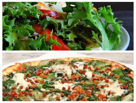 A escarola é mais utilizada em saladas e como recheio de massas.