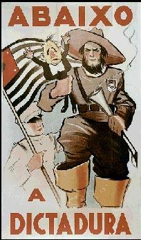Em 1932, os paulistas pegaram em armas e lutaram contra o governo provisório de Getúlio Vargas e a favor de uma nova Constituição. [1]