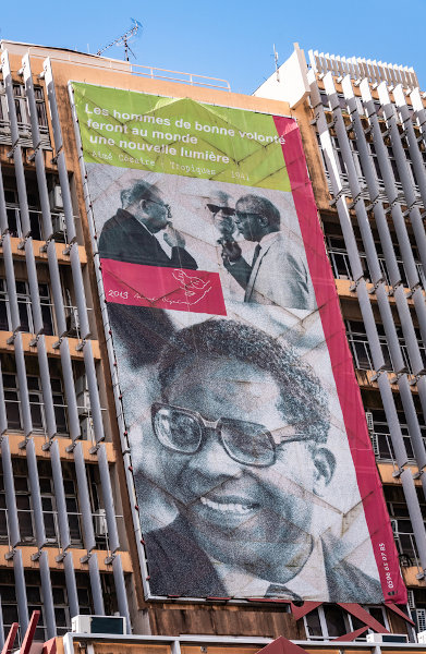 Aimé Césaire, um dos fundadores da negritude. [2]