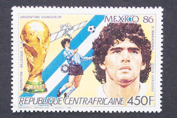 A Copa do Mundo de 1986 foi a grande conquista da carreira de Diego Maradona.[3]