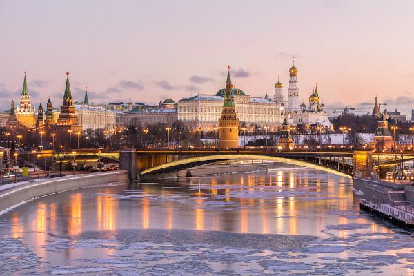Moscou, capital russa, detém a maior população do país.
