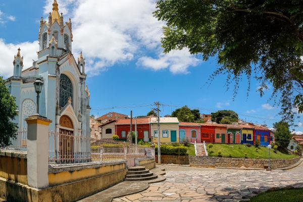 São Luiz do Paraitinga, onde Oswaldo Cruz nasceu, no dia 5 de agosto de 1872.