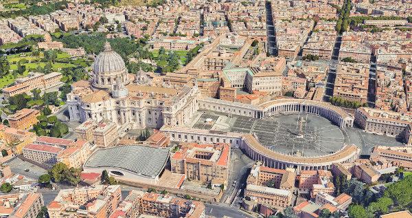 O Vaticano é o menor país do mundo em população e em extensão territorial.
