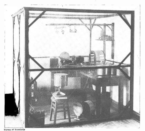 A gaiola de Faraday foi utilizada para uma grande quantidade de experimentos sobre eletricidade.[1]