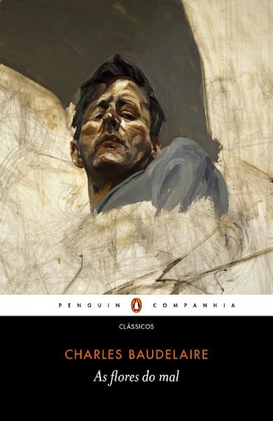 """Capa do livro """"As flores do mal"""", de Charles Baudelaire, publicado pela editora Companhia das Letras.[1]"""