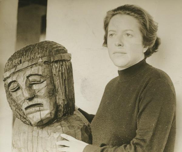 Hilda Hilst, em 1970.