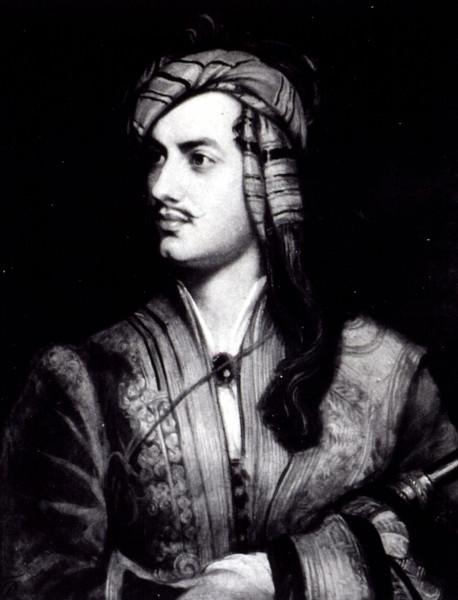 Lord Byron marcou a poesia romântica com sua escrita mórbida e irônica.