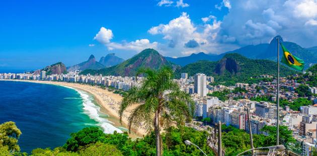 praia brasileira