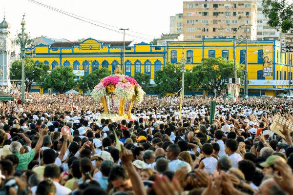 O Círio de Nazaré é a principal celebração religiosa do Pará. [1]