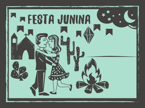 A fogueira é elemento indispensável para realizar as simpatias de São João.