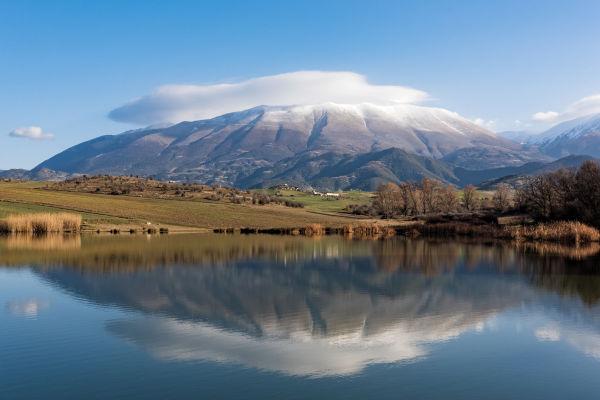 Os gregos acreditavam que parte de seus deuses residia no cume do Monte Olimpo.
