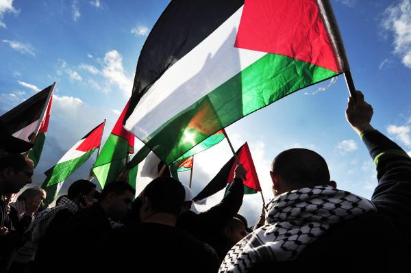 Os palestinos lutam até hoje pela criação de um Estado próprio. [1]