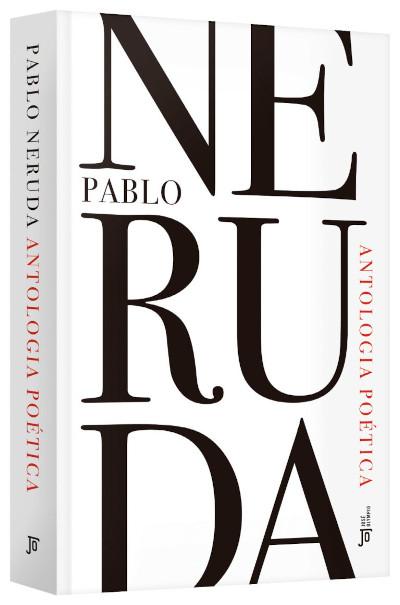 """Capa do livro """"Antologia poética"""", de Pablo Neruda, publicado pela editora José Olympio.[1]"""
