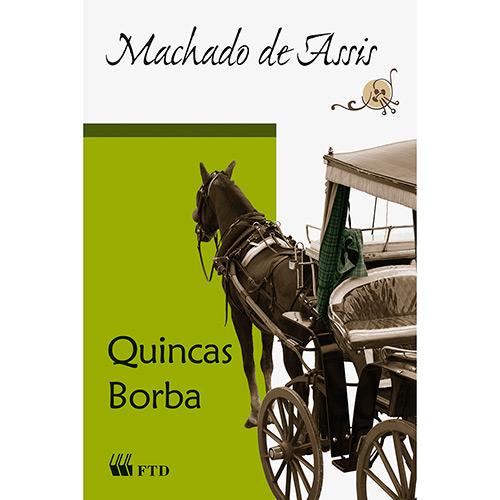 Capa do livro Quincas Borba, de Machado de Assis, publicado pela editora FTD. [1]