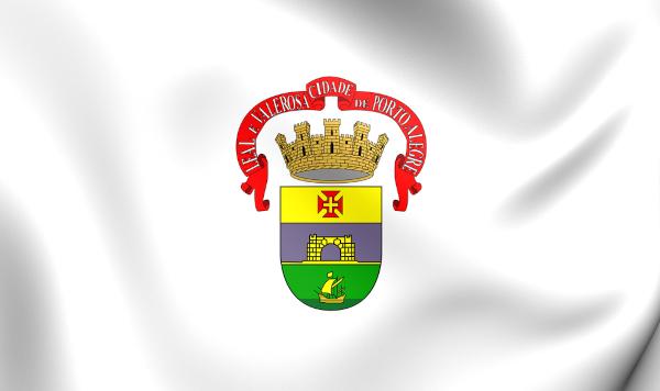 Bandeira de Porto Alegre.