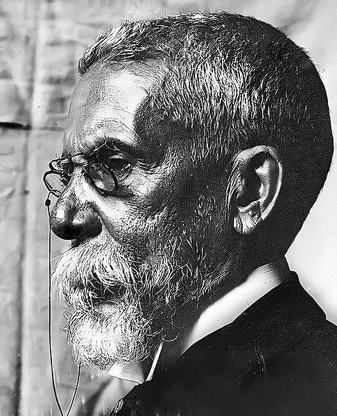 Machado de Assis, em 1904.