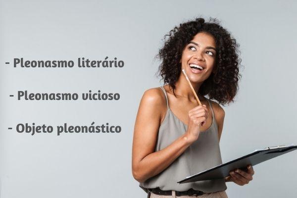 O pleonasmo pode ser uma figura de linguagem ou um vício de linguagem.