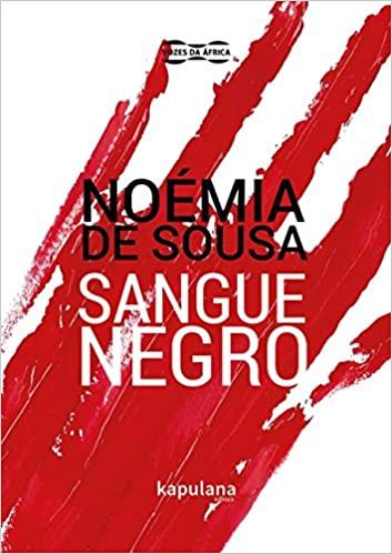 Capa do livro Sangue negro, de Noémia de Sousa, publicado pela editora Kapulana.[1]