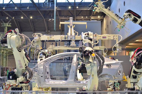 Fabricação de automóvel no Japão