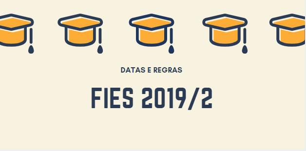 fies segundo semestre 2019