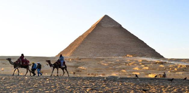 Área da pirâmide