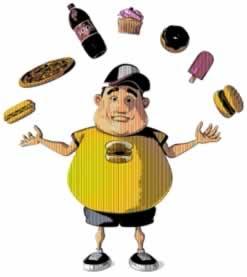 O consumo de alimentos com a��cares e gorduras s�o os respons�veis pela obesidade