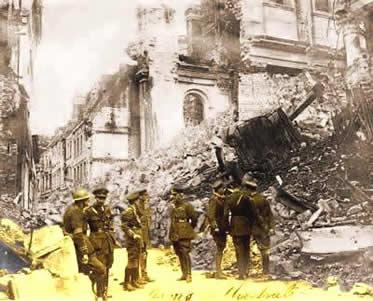 A Primeira Guerra expôs um novo paradigma de destruição bélica ao mundo.